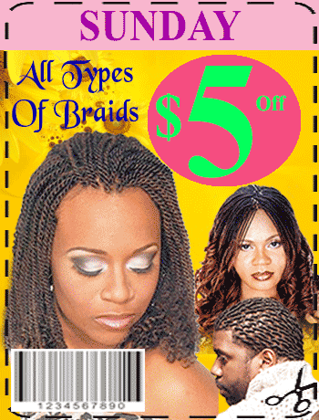 hair braiding salon near me